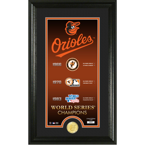 "Photo of Baltimore Orioles ""Legacy"" Supreme Bronze Coin Photo Mint"