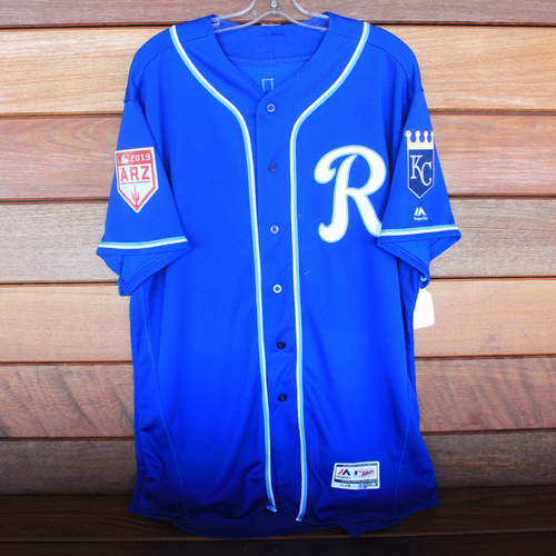 Photo of Team-Issued Spring Training Jersey: Cookie Rojas (Size 50)