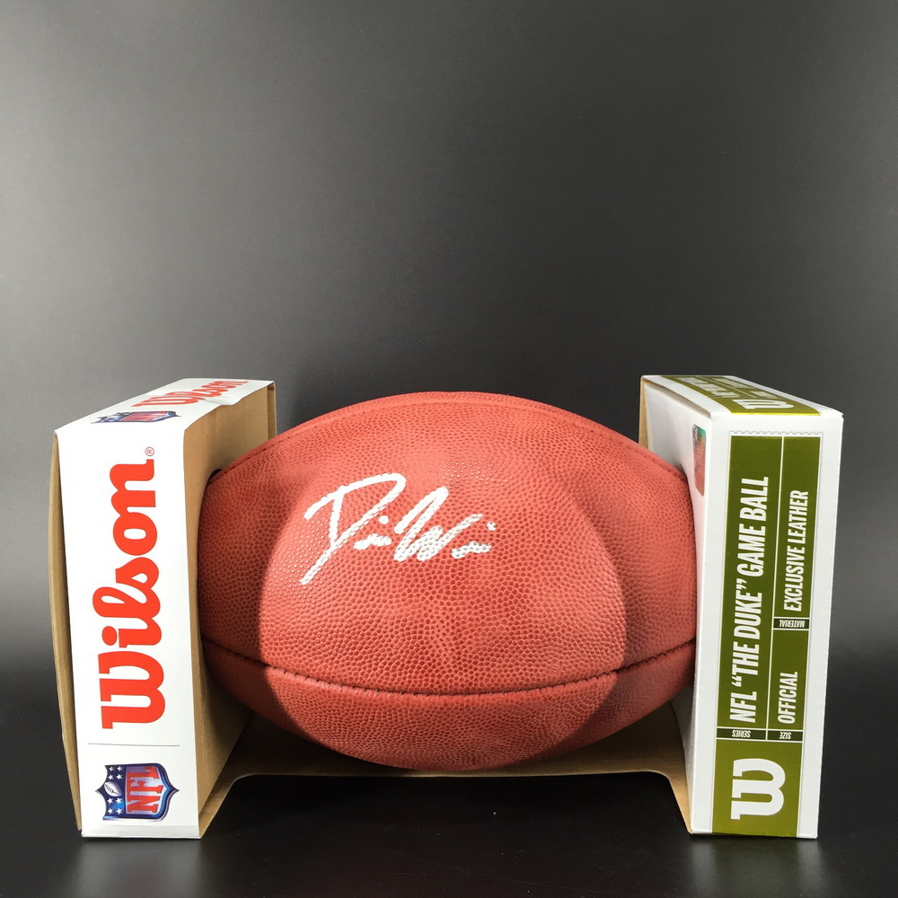 NFL - Cowboys Daniel Wise Signed Authentic Football
