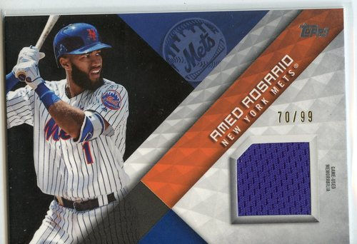 Photo of 2018 Topps Major League Materials Black #MLMAR Amed Rosario S2