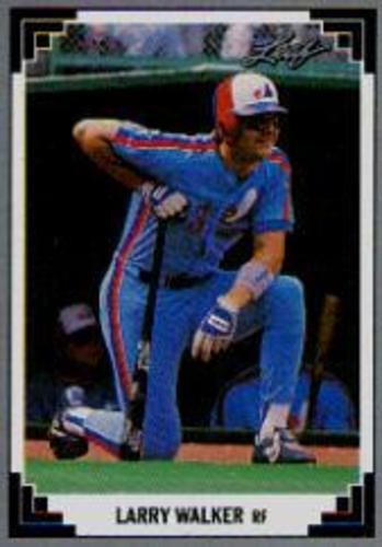 Photo of 1991 Leaf #241 Larry Walker