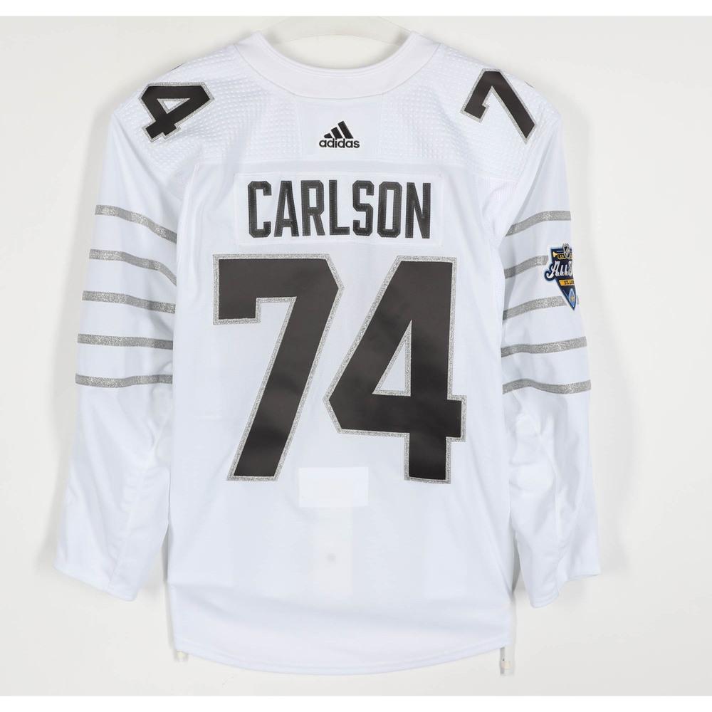 John Carlson Washington Capitals Player-Issued 2020 All-Star Game ...