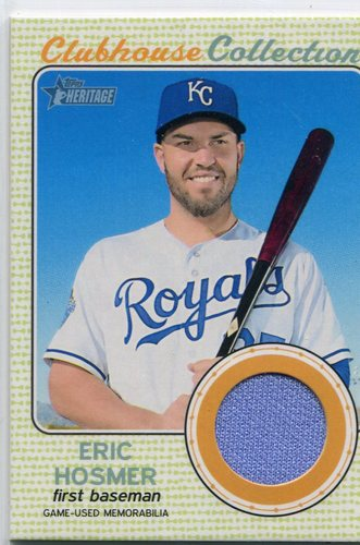 Photo of 2017 Topps Heritage Clubhouse Collection Relics #CCREH Eric Hosmer