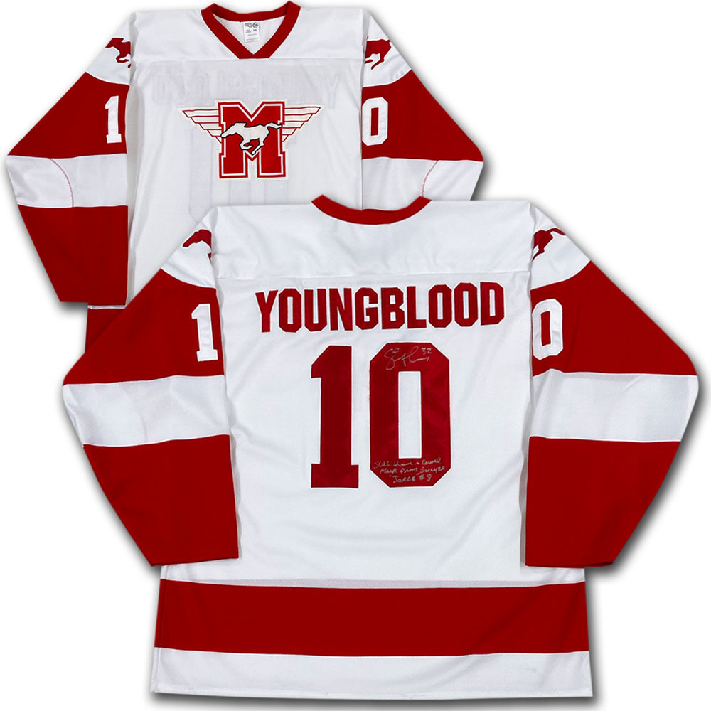 Steve Thomas Autographed Youngblood Jersey w/Inscription