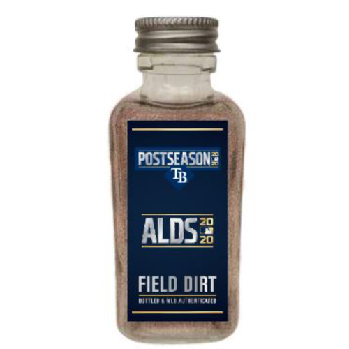 Photo of Game-Used Dirt Jar - 2020 ALDS - New York Yankees v. Tampa Bay Rays - Game 5 - Rays Clinch Spot in the ALCS