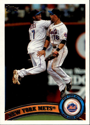 Photo of 2011 Topps #157 New York Mets TC
