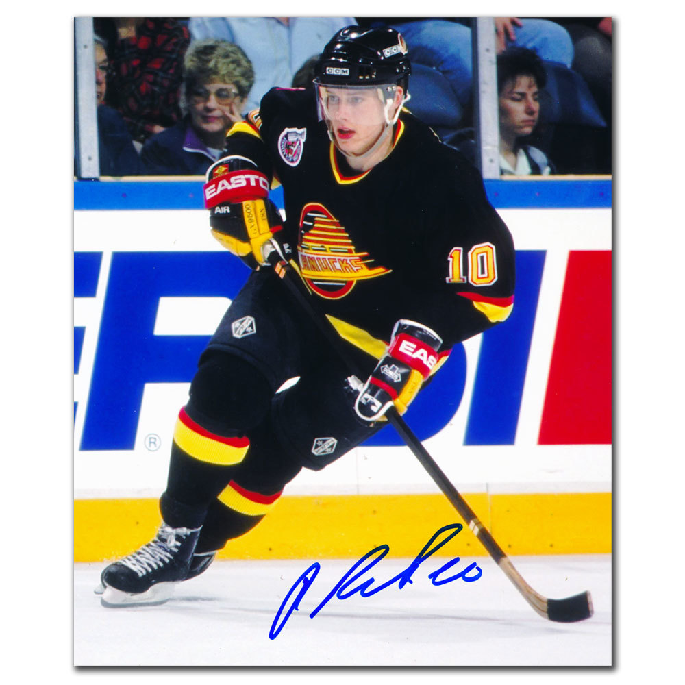 Pavel Bure Vancouver Canucks PLAYMAKER Autographed 8x10