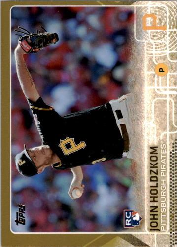 Photo of 2015 Topps Gold #581 John Holdzkom