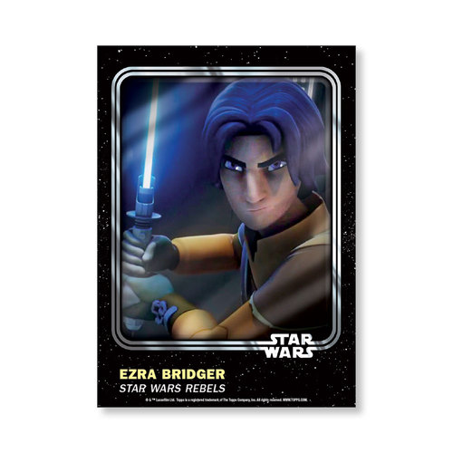 Ezra Bridger 2016 Star Wars Card Trader Base Poster - # to 99