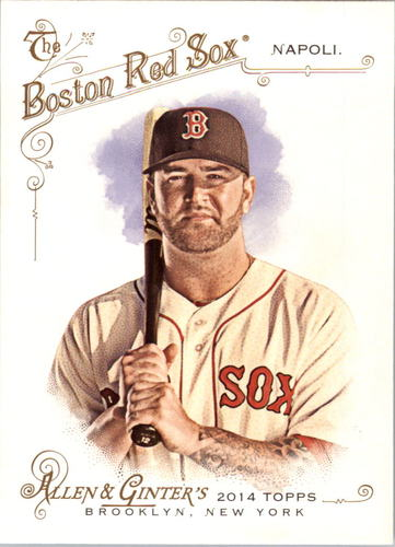 Photo of 2014 Topps Allen and Ginter #166 Mike Napoli
