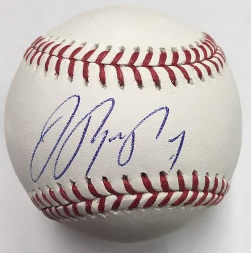 Photo of Jose Reyes Autographed Baseball