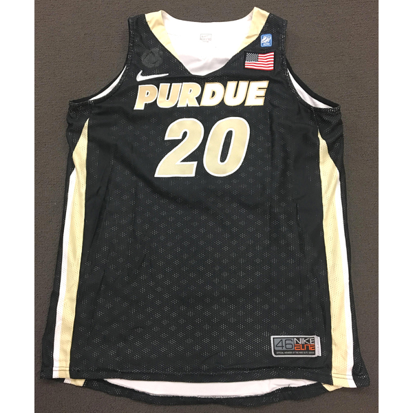 Photo of Williams #20 Purdue Women's Basketball 2010-11 Black Jersey