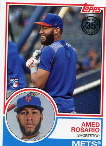 Photo of 2018 Topps '83 Rookies #8317 Amed Rosario