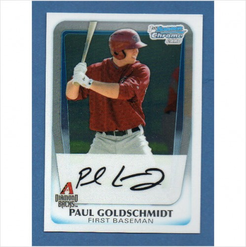 Photo of 2011 Bowman Chrome Prospects #BCP99 Paul Goldschmidt Pre-Rookie Card