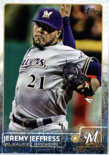 Photo of 2015 Topps Update #US47 Jeremy Jeffress