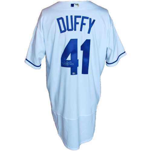 Photo of Autographed White Jersey: Danny Duffy