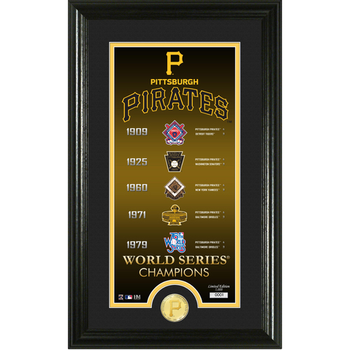 "Photo of Pittsburgh Pirates ""Legacy"" Supreme Bronze Coin Photo Mint"