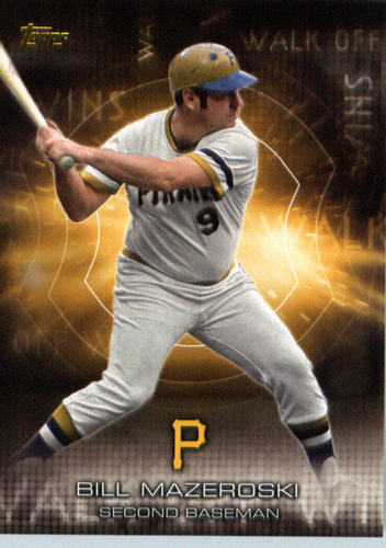 Photo of 2016 Topps Walk Off Wins #WOW4 Bill Mazeroski