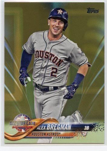 Photo of 2018 Topps Update Gold #US67 Alex Bregman AS