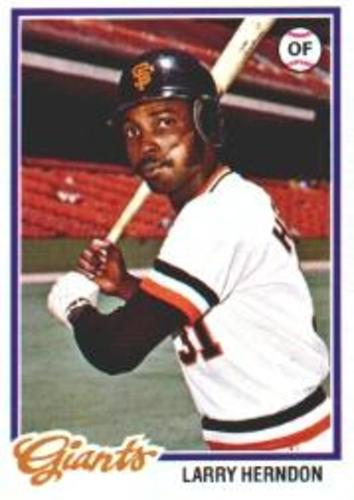 Photo of 1978 Topps #512 Larry Herndon