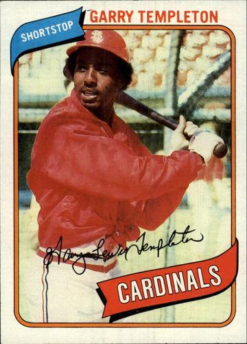 Photo of 1980 Topps #587 Garry Templeton