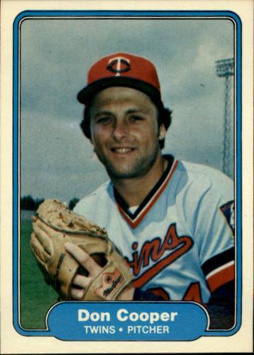 Photo of 1982 Fleer #550 Don Cooper
