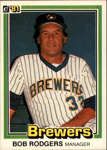 Photo of 1981 Donruss #327 Bob Rodgers MG