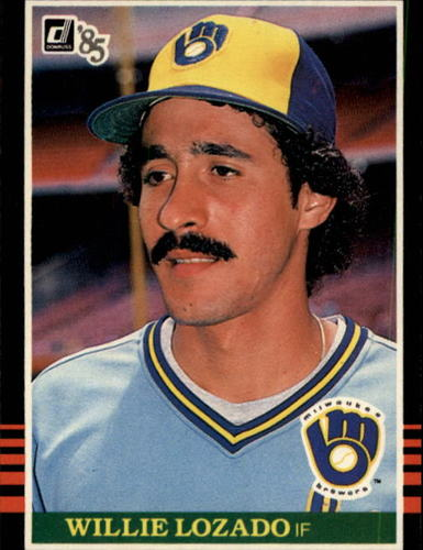 Photo of 1985 Donruss #595 Willie Lozado