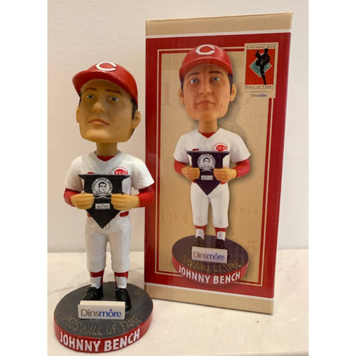 Photo of 2018 Hall of Fame Series - Johnny Bench Autographed Bobblehead