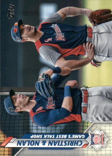 Photo of 2020 Topps #160 Christian and Nolan/Christian Yelich/Nolan Arenado