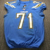 International Series - Chargers Damion Square Game Used Jersey (11/18/19) Size 44