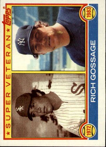 Photo of 1983 Topps #241 Rich Gossage SV