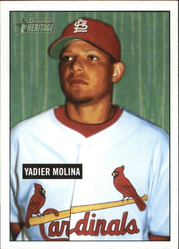 Photo of 2005 Bowman Heritage #85 Yadier Molina