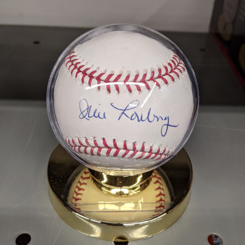 Photo of Jim Lonborg Autographed Baseball