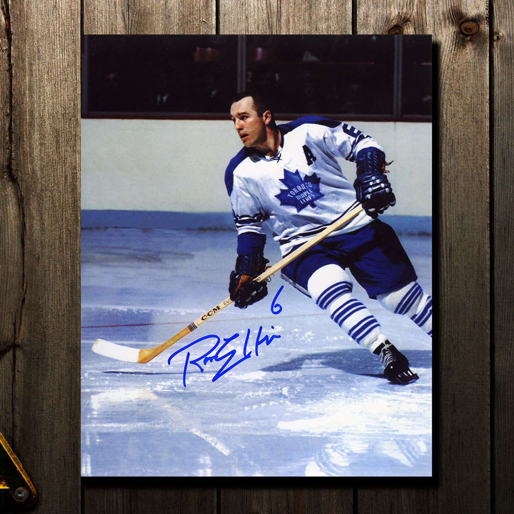 competitive price ae240 f8d0a Ron Ellis Toronto Maple Leafs Autographed 8x10 - NHL Auctions