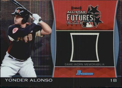 Photo of 2011 Bowman Draft Future's Game Relics #YA Yonder Alonso