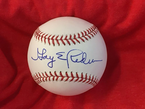 Photo of Gary Redus Autographed Baseball