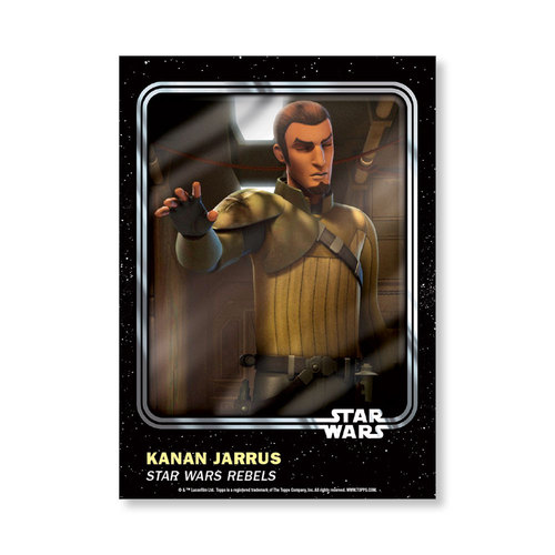 Kanan Jarrus 2016 Star Wars Card Trader Base Poster - # to 99