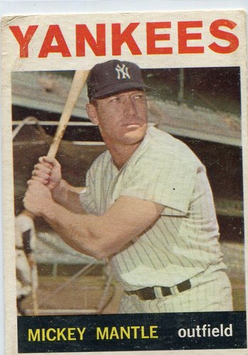 Photo of 1964 Topps #50 Mickey -- Hall of Famer
