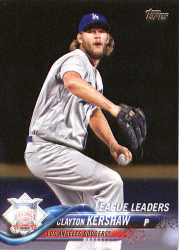 Photo of 2018 Topps #59 Clayton Kershaw LL