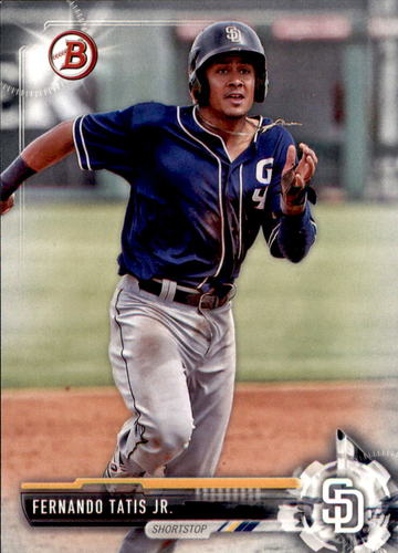 Photo of 2017 Bowman Draft #BD71 Fernando Tatis Jr.