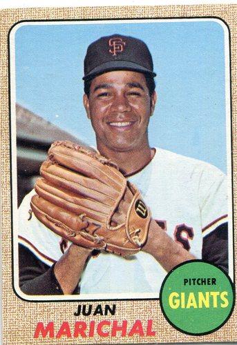 Photo of 1968 Topps #205 Juan Marichal -- Hall of Famer