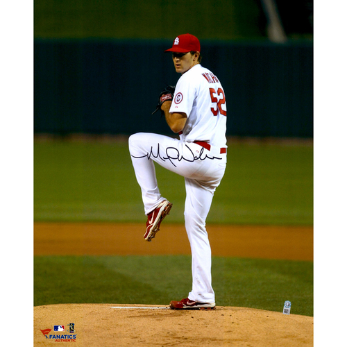 "Photo of Michael Wacha St. Louis Cardinals Autographed 16"" x 20"" Vertical Leg Up Photograph"
