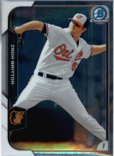 Photo of 2015 Bowman Chrome #20 Zach Britton