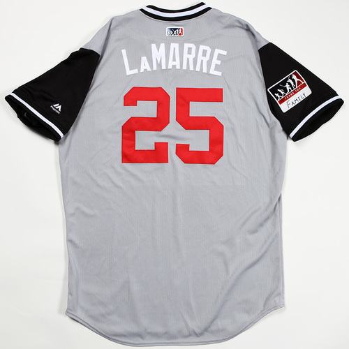 "Photo of Ryan ""LaMarre"" LaMarre Chicago White Sox Game-Used Jersey 2018 Players' Weekend Jersey"