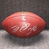 Crucial Catch  - Broncos Jamaal Charles signed and game used football w/ Crucial Catch logo (October 15, 2017)