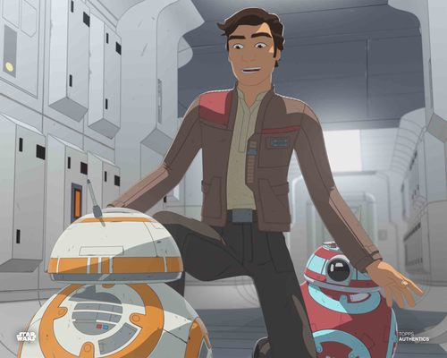 Poe Dameron, BB-8 and CB-23