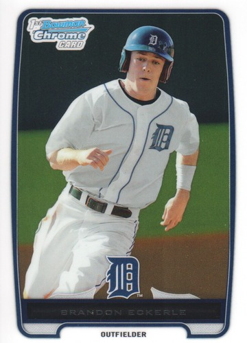 Photo of 2012 Bowman Chrome Prospects #BCP164 Brandon Eckerle