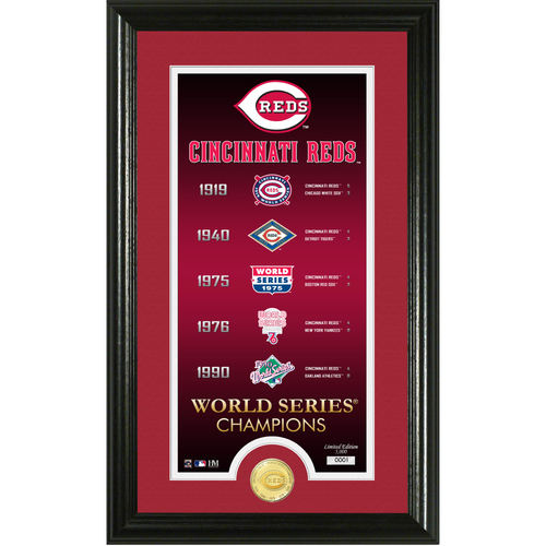 "Photo of Cincinnati Reds ""Legacy"" Supreme Bronze Coin Photo Mint"