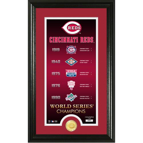 "Photo of Cincinnati Reds ""Legacy"" Supreme Bronze Coin Photo Mint"